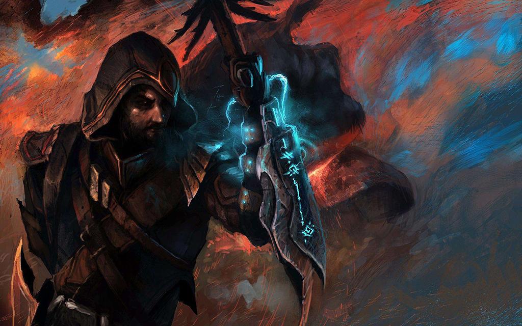 暗黑破坏神3猎魔人壁纸 猎魔人精美桌面大