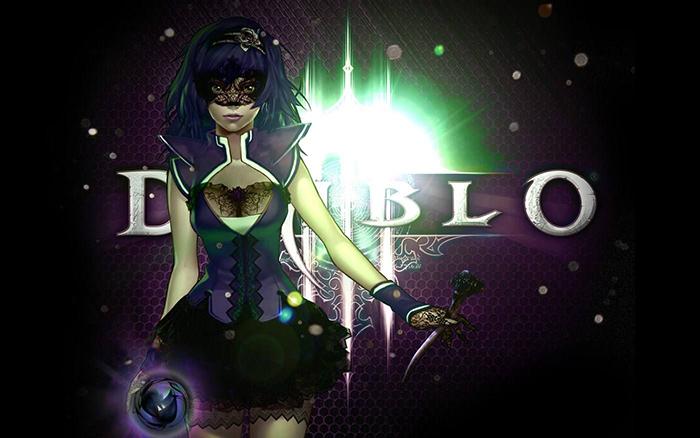 暗黑破坏神3魔法师壁纸 魔法师精美桌面大