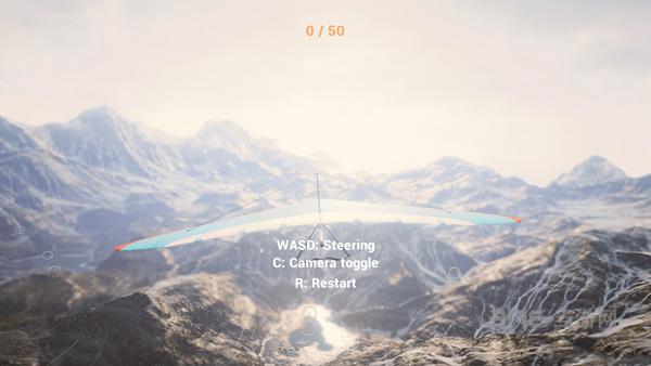 三角滑翔翼模拟器截图4