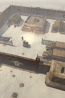 《散兵坑》高清游戏截图 一枪不开也能赢的战争
