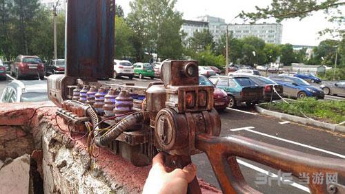 辐射4高斯步枪展示1