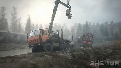 旋转轮胎泥泞奔驰游戏图片2