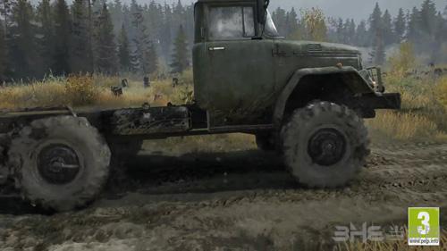 旋转轮胎泥泞奔驰游戏图片1