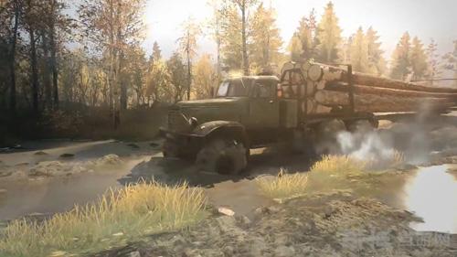 旋转轮胎泥泞奔驰游戏图片3