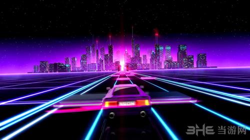 霓虹赛车游戏图片2