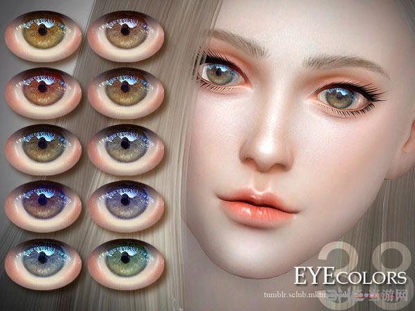 模拟人生4v1.31LL38色亮眼美瞳MOD截图0