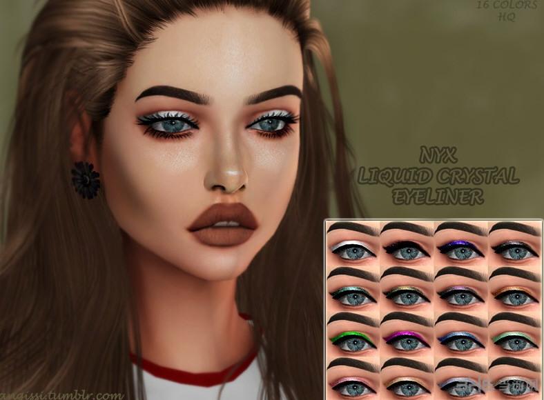 模拟人生4 v1.31尼克斯女式液晶眼线MOD截图0