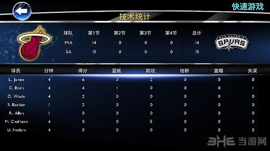 NBA2K14截图3