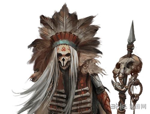 地下城堡2巫医怎么样 骷髅法师巫医人物剧情介绍