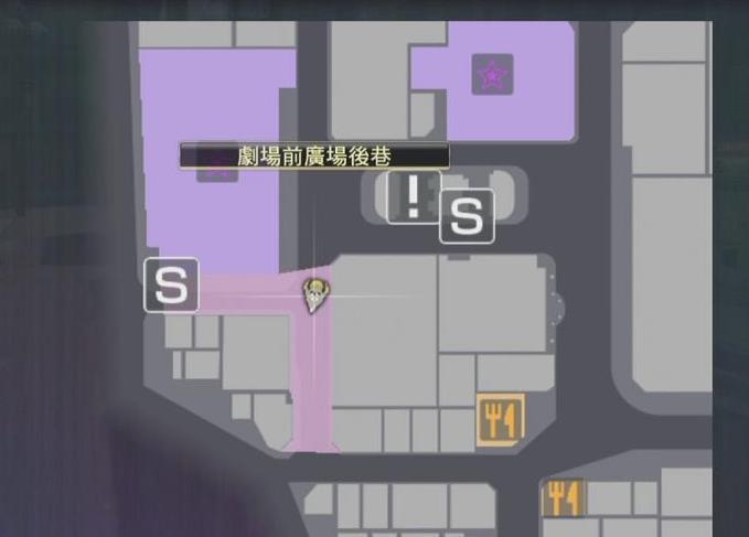 如龙0地图