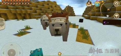 迷你世界野生冰熊截图