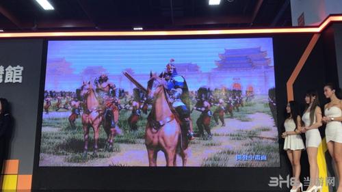 台北电玩展三国群英传8现场图3