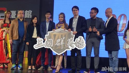台北电玩展三国群英传8现场图4