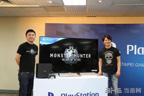 怪物猎人世界台北电玩展现场