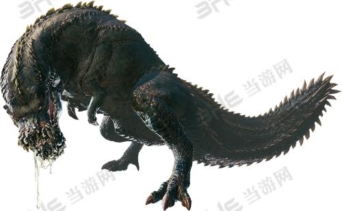 小明看看网_怪物猎人世界恐暴龙图鉴 丝瓜属性及弱点位置介绍_当游网