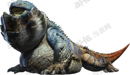 怪物猎人世界岩贼龙图鉴 岩贼龙属性及弱点位置介绍图片