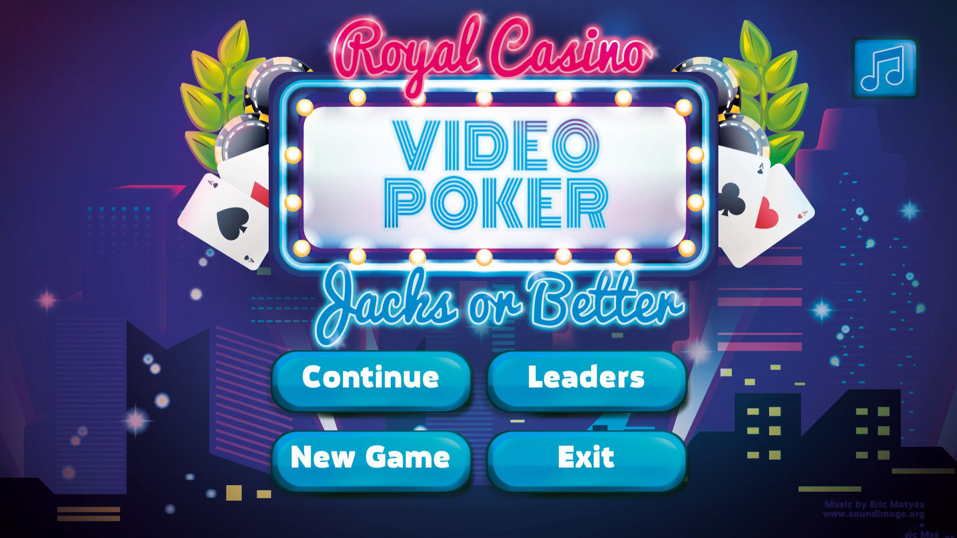 皇家俱乐部:视频扑克截图0