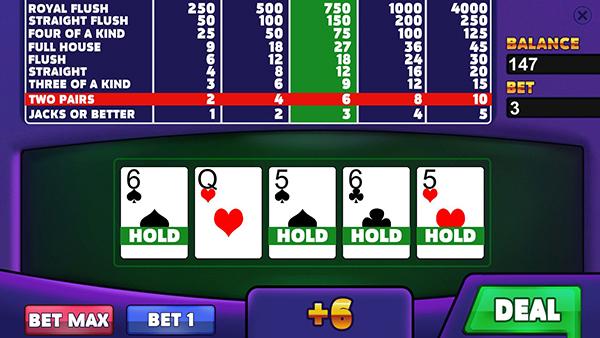 皇家俱乐部:视频扑克截图1