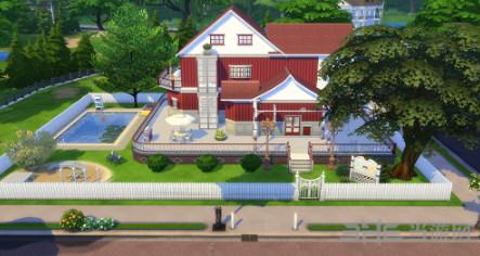模拟人生4田园美式建筑住宅式宠物医院MOD截图0