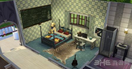 模拟人生4田园美式建筑住宅式宠物医院MOD截图1