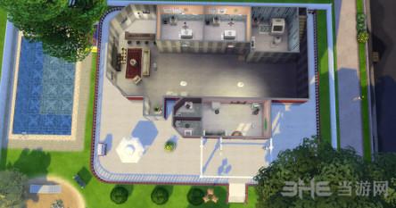模拟人生4田园美式建筑住宅式宠物医院MOD截图2