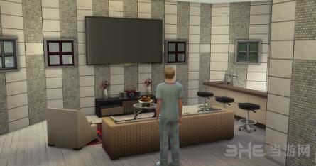 模拟人生4田园美式建筑住宅式宠物医院MOD截图4