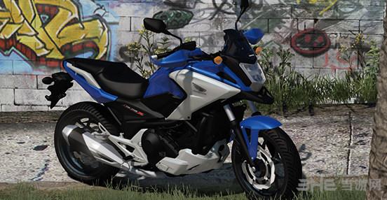 侠盗猎车手5本田NC750X中量级ADV摩托车MOD截图0