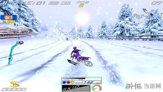 极限滑雪摩托截图5