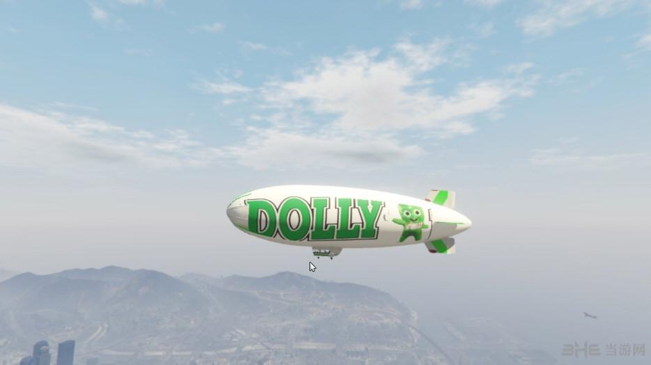 侠盗猎车手5齐柏林飞艇DOLLYNHO贴图MOD截图1