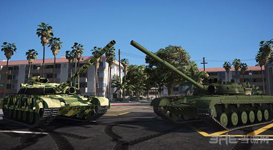 侠盗猎车手5前苏联T-64主战坦克MOD截图0
