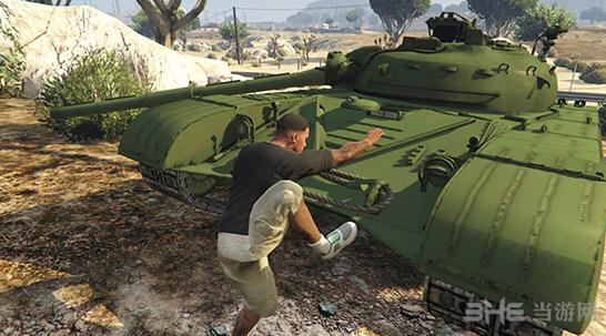 侠盗猎车手5前苏联T-64主战坦克MOD截图1