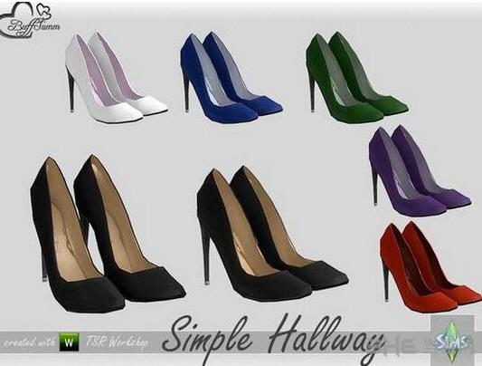 模拟人生4七色简约装饰高跟鞋MOD截图0