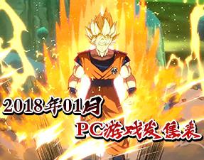 天下第一武道会全新来袭 2018年01月PC游戏发售表