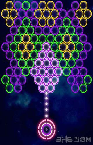 荧光霓虹泡泡