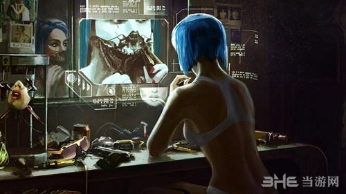 赛博朋克2077宣传图2
