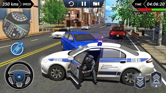 犯罪城警�模�M器破解版截�D3