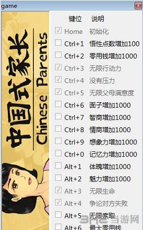 中国式家长十九项修改器截图0