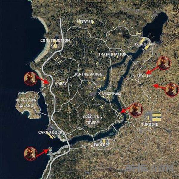使命召唤15吃鸡模式地图