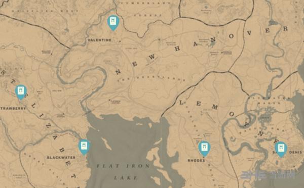 荒野大镖客2赏金猎人海报位置图片
