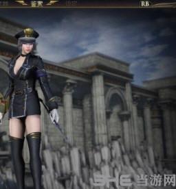 无双大蛇3王异传奇服装黑色制服MOD截图0