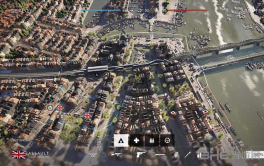 战地5鹿特丹地图打法1