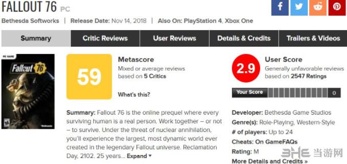 辐射76游戏评测4