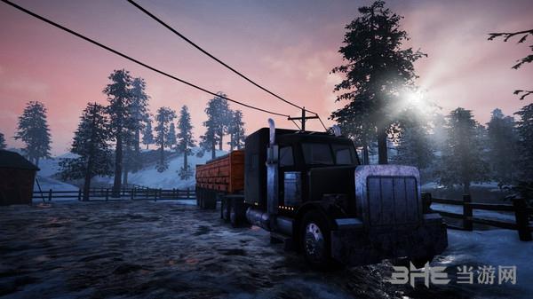 阿拉斯加卡车模拟截图0