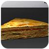蘑菇千层饼