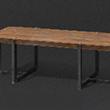 时尚长木桌