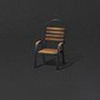 木制悠闲靠椅