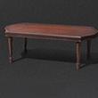 古典长木桌