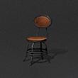 复古酒吧圆椅