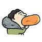 王校长吃热狗图片包