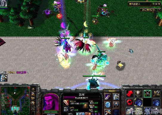 魔兽争霸3神之墓地2.6D地图截图0